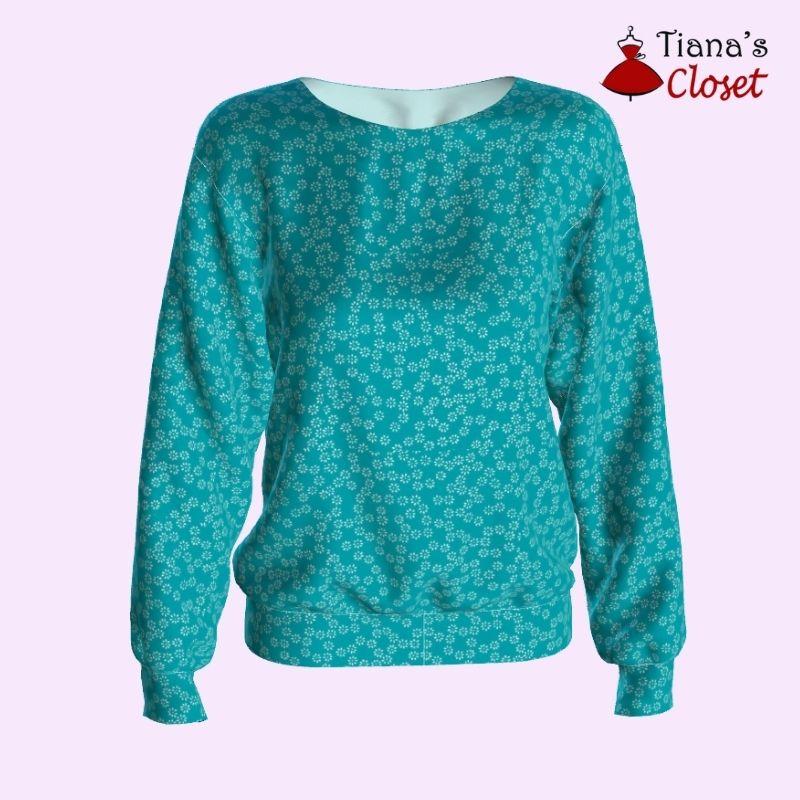 sweatshirt free pdf sewing pattern